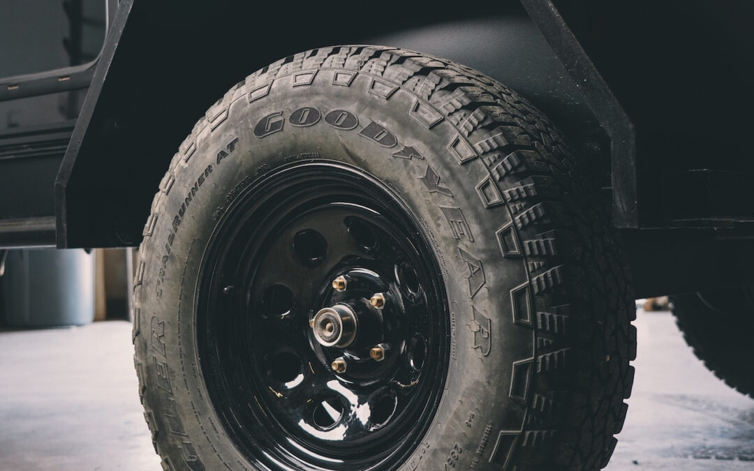 29″ All-Terrain Tires with 15″ Wheels