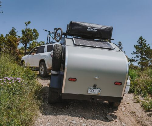 Off-Road Towing Uphill